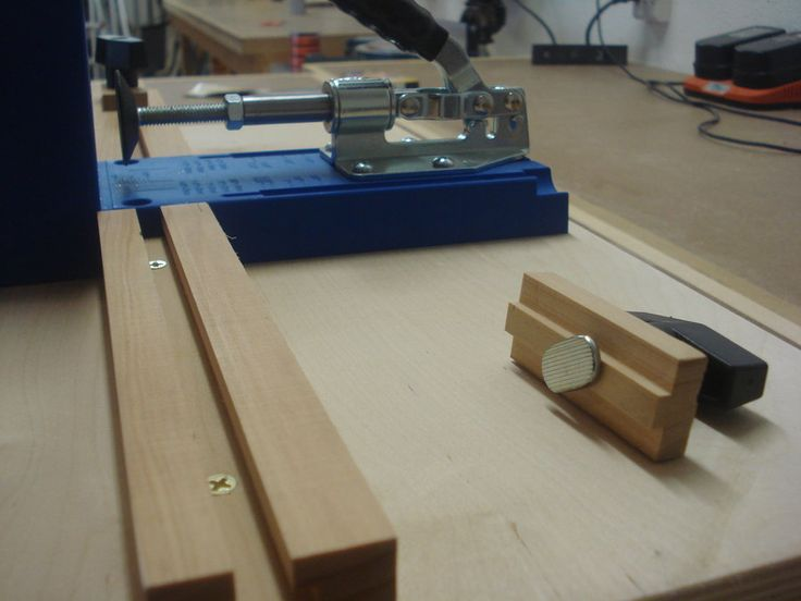 Kreg Pocket Hole Jig Base Plus Storage   By Vrice @ LumberJocks.com ~ ·  WerkstattHolzbearbeitung ProjekteGarage ...