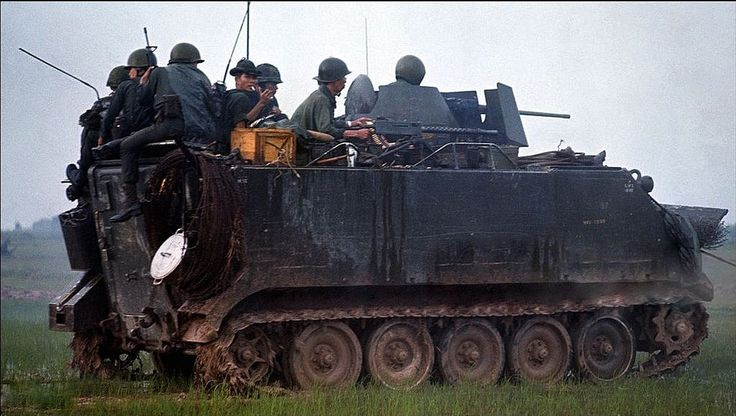 Image result for ARVN M113 IN KONTUM