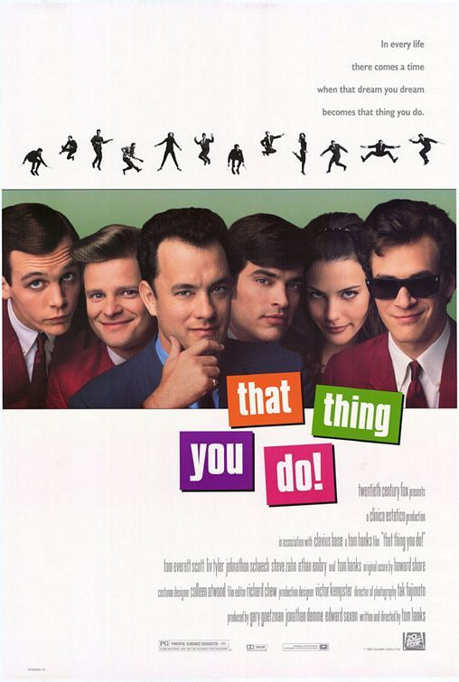 That Thing You Do!: Great Movie, Toms Hanks, Excel Movie, Worth Watches, Movies, Favorite Flicks, Things, Favorite Movie, Favorite Film