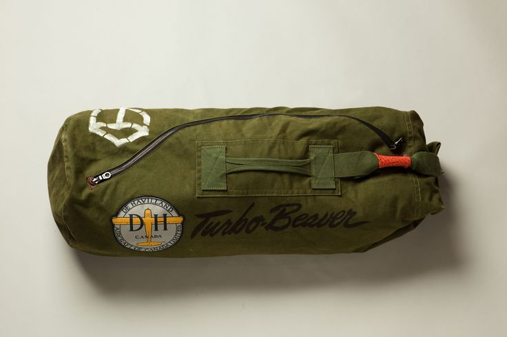 De Havilland Turbo Beaver Vintage Duffle Bag