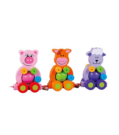 Three Friends Farm From Lelin from The Wooden Toybox