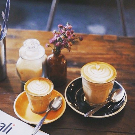 BIG COFFEE • little coffee! The perfect Friday arvo pick me up from @revolverespresso ☕️ Thank you for the picture @lindsjessbutler  • #coffee #caffinefix #kopi #revolverespresso #afternoondelight #seminyak #petitenget #cafe #cafelyf #holidays #balifood #balicoffee #adventure #travel #instatravel #luxetravel #weekend  TAG US IN YOUR BALI POCS #thebaliwhisperer