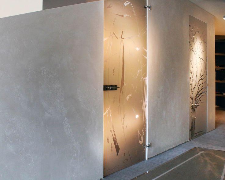 Porta in cristallo Zefira e Albero by Casali