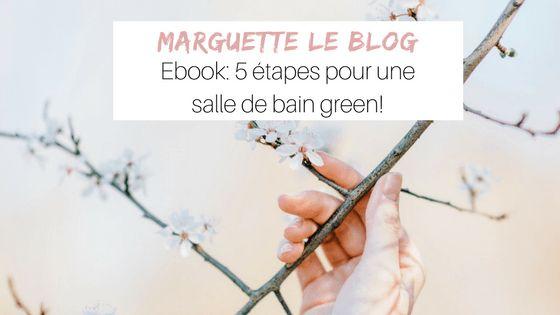 Ebook: 5 étapes pour une salle de bain green