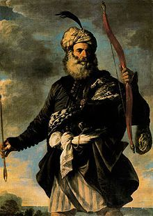 A Barbary pirate, Pier Francesco Mola 1650