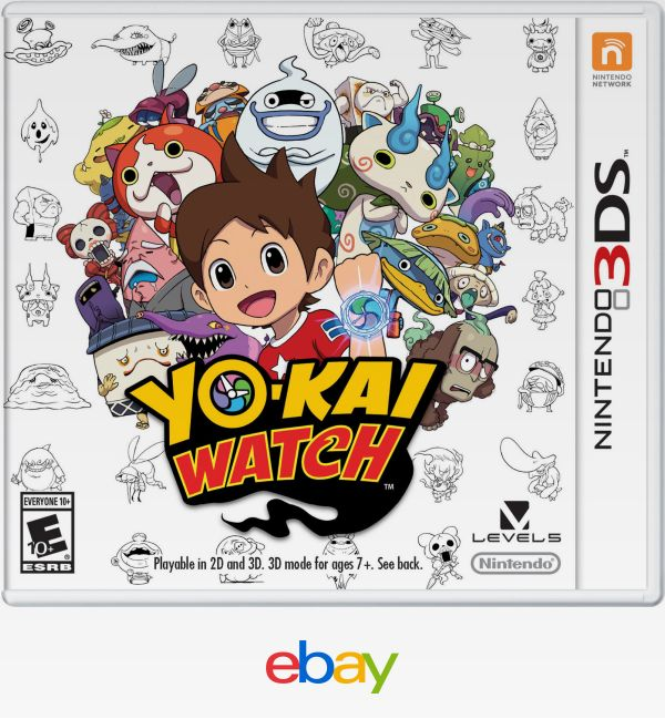 Yokai Watch (Nintendo 3Ds, 2015) Low Price