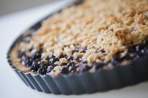 Blueberry Tarte - Recipe by Leila Lindholm