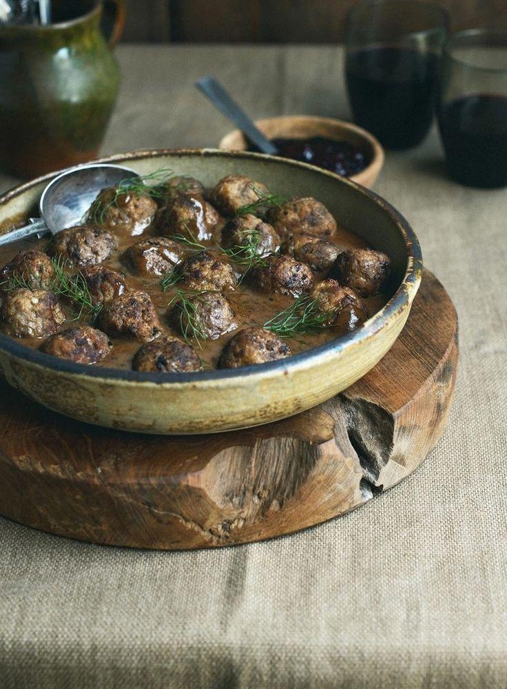 Swedish-ish Meatballs