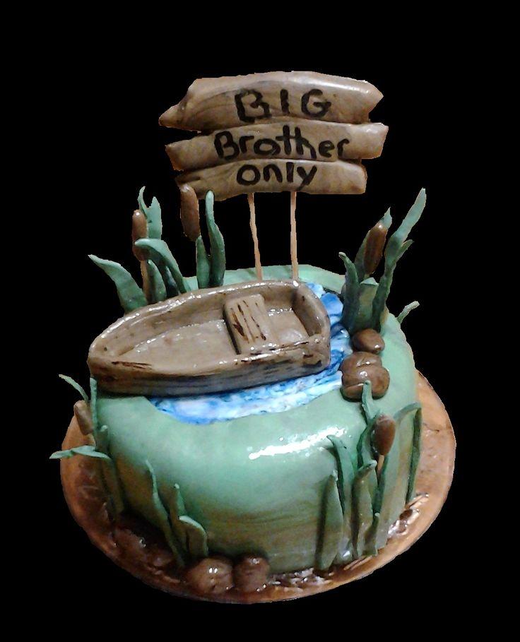 Gâteau pour le grand frère, Nathan - mars 2017