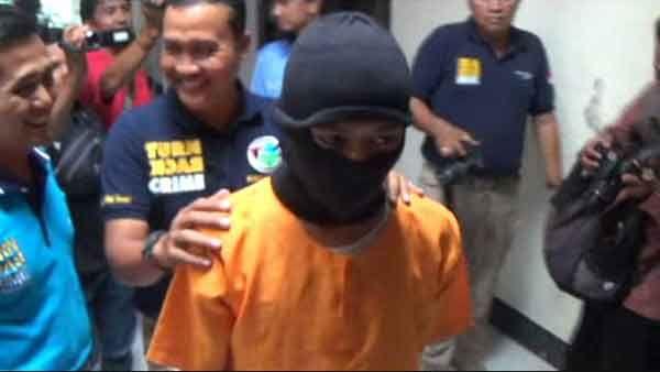 Polisi Kediri Tangkap Kurir Narkoba