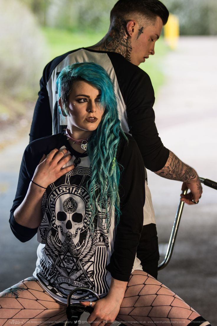 """Kultus Xronos"" Raglan Tee Available at www.crmc-clothing.co.uk | WE SHIP WORLDWIDE Models - @ryan_davieshall & @cybermaikitten Photography by @photoanarchy #apparel #streetwear #streetfashion #alternativeguy #fashionista #fashionstatement #fashionofinstagram #alternativeteen #alternativegirl #alternativeboy #fashiongram #instafashion #fashionaddict #menwithtattoos #tattoooedmen #guyswithtattoos #tattoos #picoftheday #dailyfashion ."