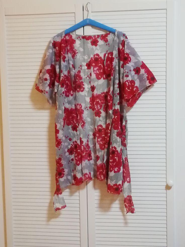 kimono ze šály