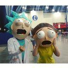 [Self] Morty was so shocked that Justin Roiland tweeted our cosplay