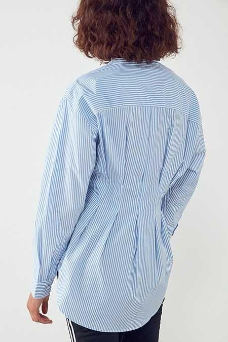 silence noise dex pintuck tunic blouse women clothes sale