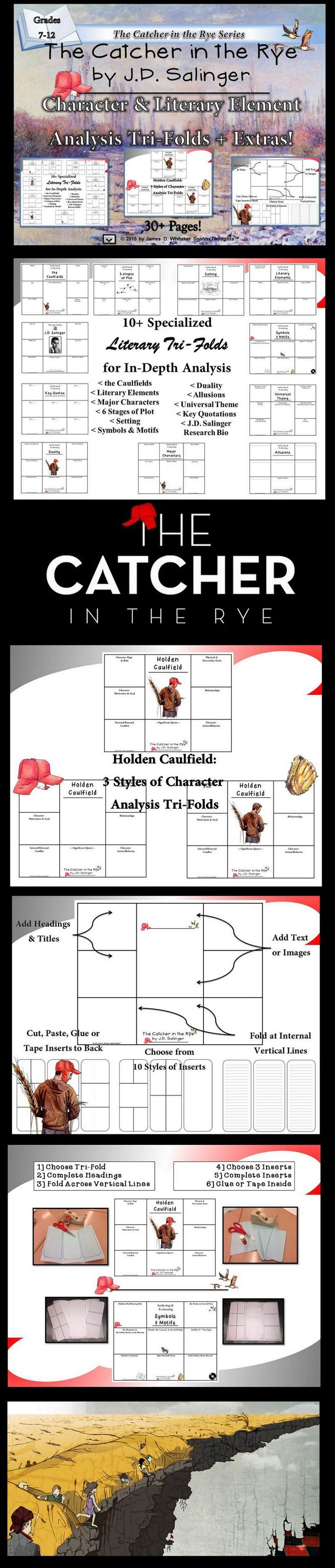 an analysis of the inner conflict of the protagonist in catcher in the rye by j d salinger Catcher in the rye rhetorical analysis  the catcher in the rye – analysis and summary name of the book: the catcher in the rye writer: j d salinger his complete name is jerome david salinger, and he was born the first day of.