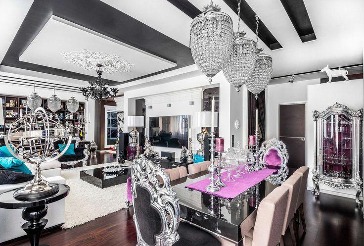 Архитектурное бюро Игоря Сушкова: проектирование интерьеров квартир, коттеджей и домов, ресторанов и кафе - Интерьер квартиры в стиле Фьюжн