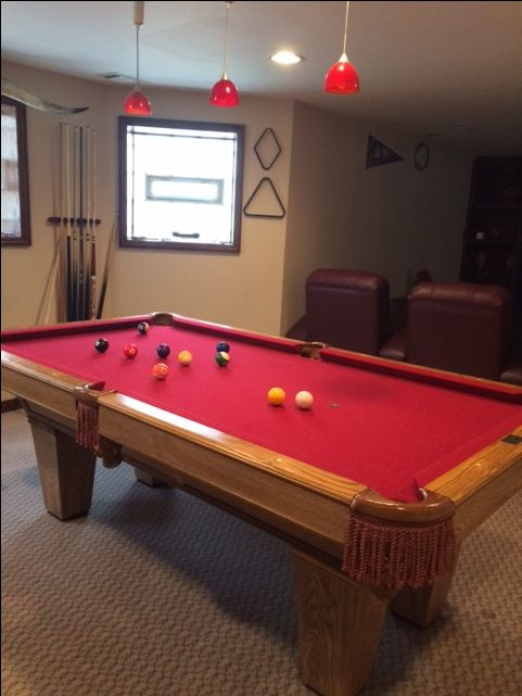 Best 25 Slate Pool Table Ideas On Pinterest