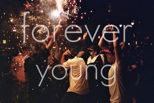 Hipster Photo - Forever Young