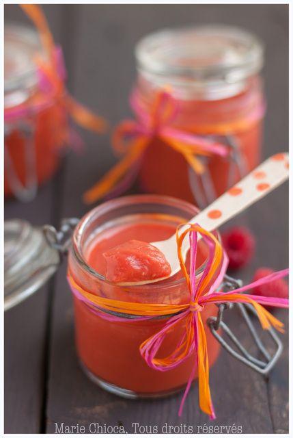 Curd d'abricot à la framboise (Attention, danger d'addiction !) - Saines Gourmandises, Marie Chioca