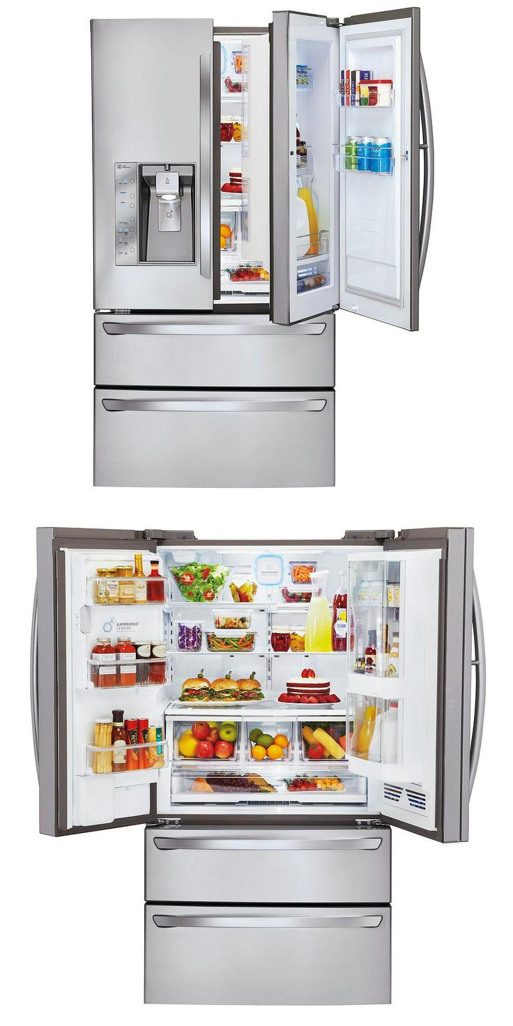 "You don't have to wait for a kitchen remodel to treat yourself to your dream refrigerator. ""Because we do not eat a lot of processed food, this is a great refrigerator because it is huge. We decided that we need the extra room just for our fresh food."" -Home Depot customer NSDG"