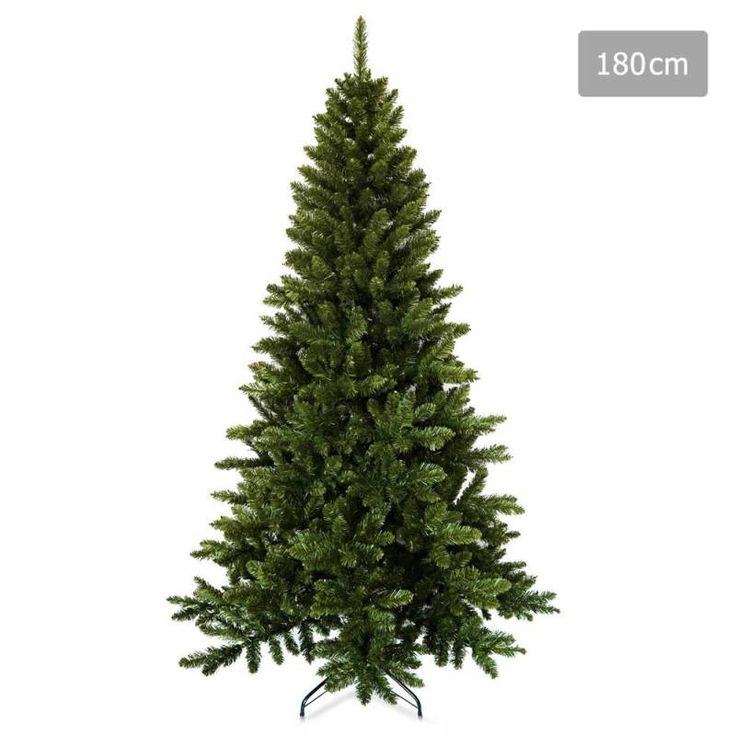 Christmas Tree with 600 Tips in Green PVC - 1.8m | Buy Christmas Trees