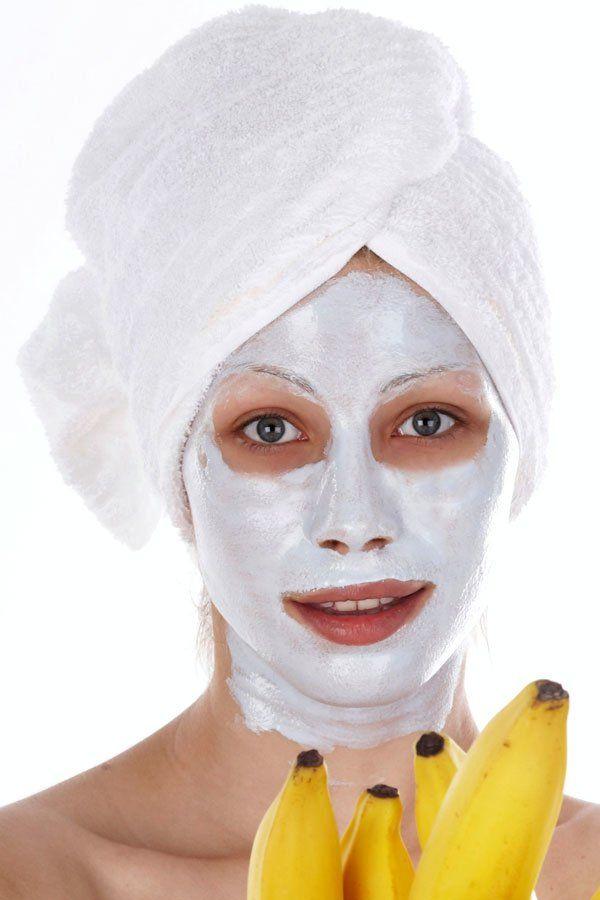 Maske mit Banane