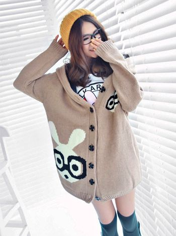 Rabbit Sweater | Cute Japanese Fashion
