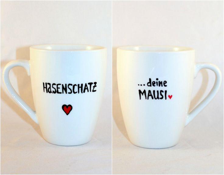 Dein Geburtstagsgeschenk Tasse mit Namen Kosenamen von Lovely-Cups via dawanda.com