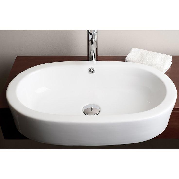 Above Counter Bathroom Sink : IMG 145 Teno Above Counter Vessel Sink Bathroom Reno Anyone? Pint ...