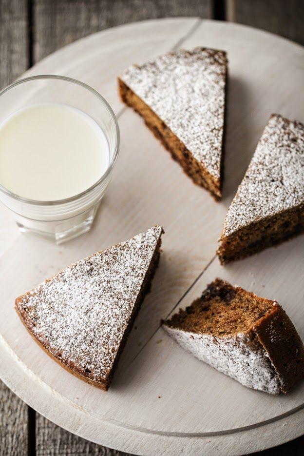- VANIGLIA - storie di cucina: I LOVE banana bread 1/3: torta al grano saraceno con noci e cioccolato