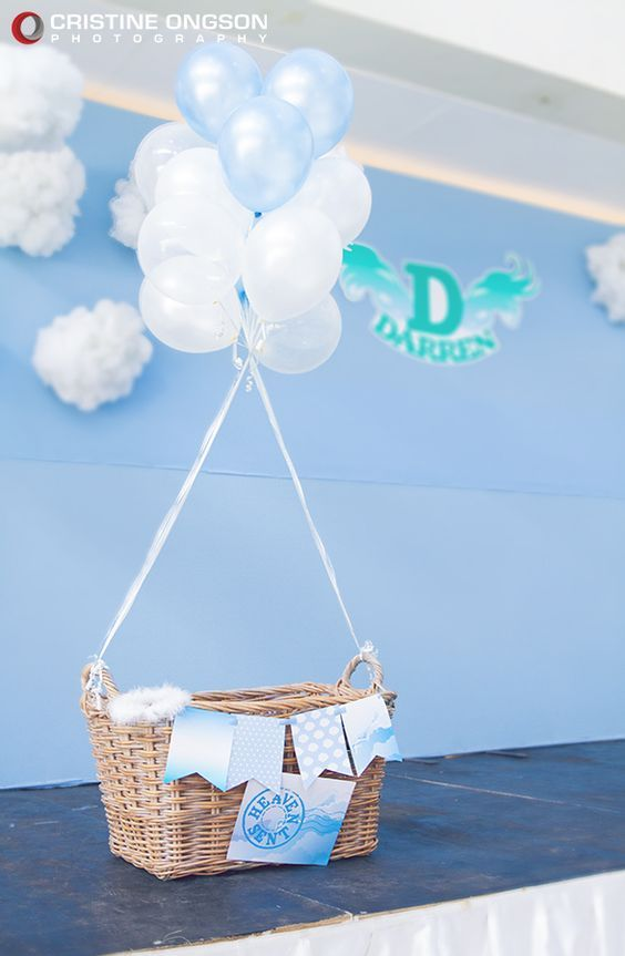 30 ideas para organizar y decorar un baby shower para niño