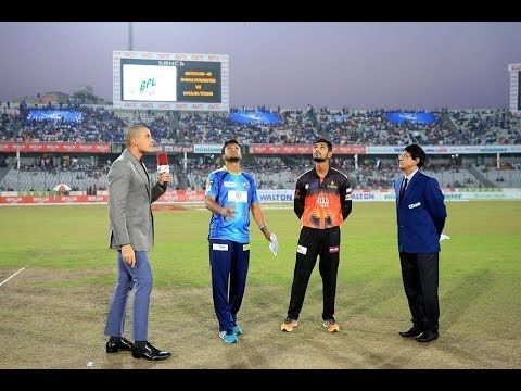 Dhaka Dynamites vs Khulna Titans Bpl 2016 Qualifier 1 & Dhaka Dynamites vs Khulna Titans Full HD  Dhaka Dynamites vs Khulna Titans Qualifier 1 - Live Cricket Score Commentary Series: Bangladesh Premier League 2016 Venue: Shere Bangla National Stadium Dhaka Date & Time: Dec 06  05:45 PM  LOCAL Commentary Scorecard Highlights Full Commentary Live Blog Points Table Match Facts News Photos DHAKA 140/8 (20.0 Ovs)KHULNA 86-all out (16.2 Ovs)Dhaka Dynamites won by 54 runsPLAYER OF THE MATCH Andre…