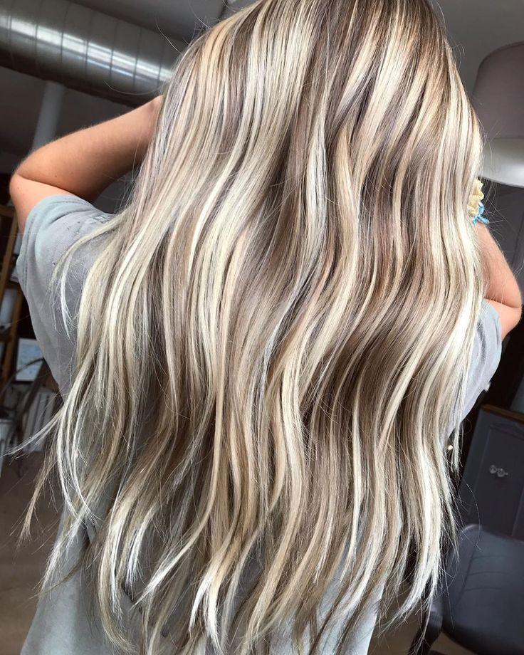 Blonde Strähnen in 2020 | Blonde haare mit strähnen