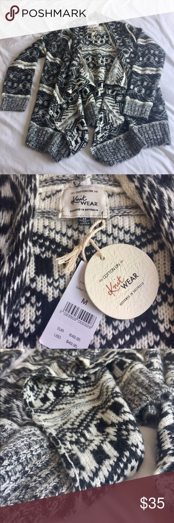 Selling this Boho long sweater (cardigan) on Poshmark! My username is: oarghandiwal. #shopmycloset #poshmark #fashion #shopping #style #forsale #Cotton On #Sweaters