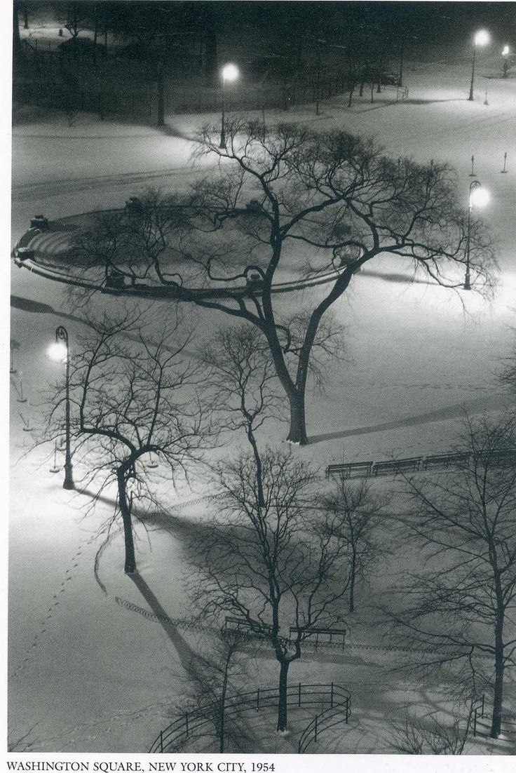 Washington Square, NYC, 1954