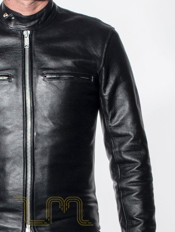 New Leather Monkeys Icon Leather Cafe Racer Biker Jacket lewis image one