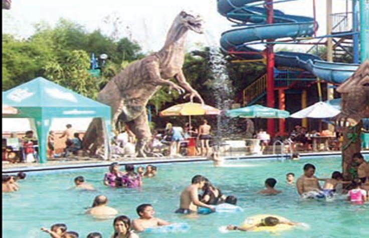 Memasuki musim liburan panjang, Natal dan Tahun Baru Waterpark di Kota Delta kebanjiran pengunjung. Bahkan lonjakan pengunjung mencapai 200..