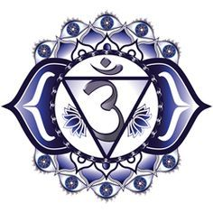 Third Eye Chakra (Ajna) Symbol and Mantra - AlternateHealing.net