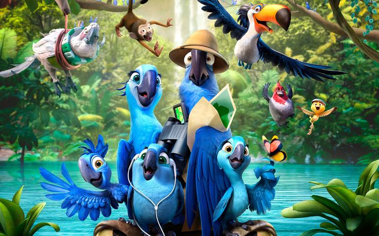 New Animation Movies ★ Rio 2 ★  Movies English HD ★ Cartoon Movies For c...
