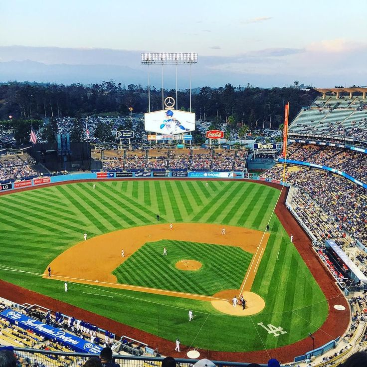 THINK BLUE: Dodgers vs Angels by paulthope