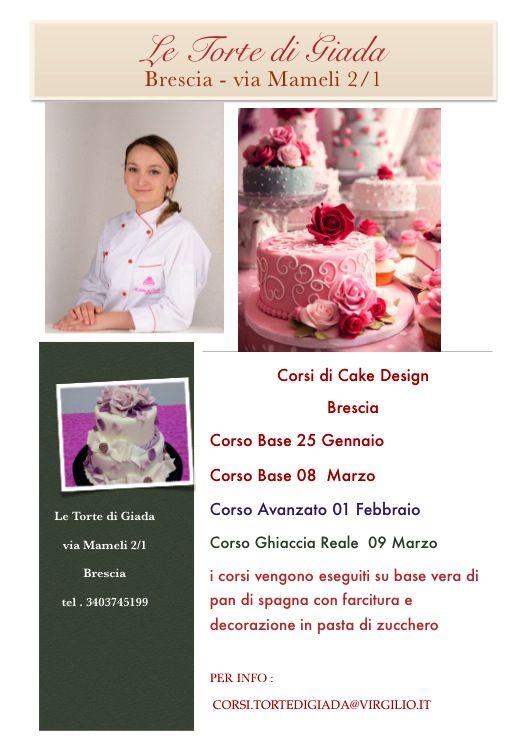 Il Calendario Corsi di Cake Design con Giada farina de Le Torte di Giada