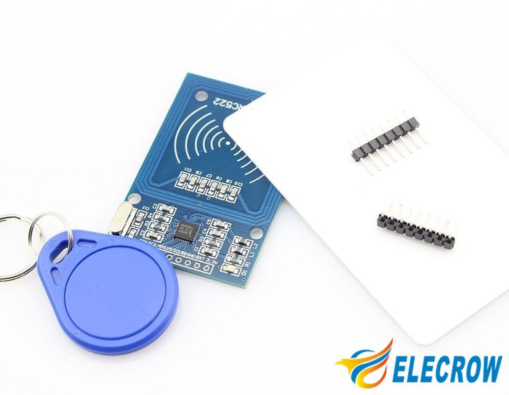 Elecrow High Quality RFID Reader with Cards Kit for Arduino 13.56MHz 6cm with Tags RF IC Card Electronic DIY Kit