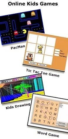 Fun, educational online kids games!