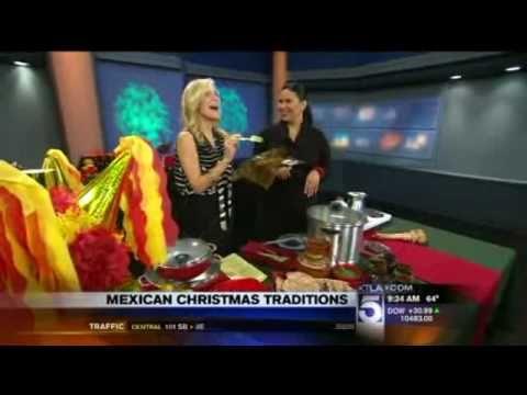 Chef Ana Garcia presents Mexican Christmas Traditions and Dishes at KTLA Morning News at 9