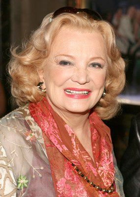 Gena Rowlands in later years -- talented actress!