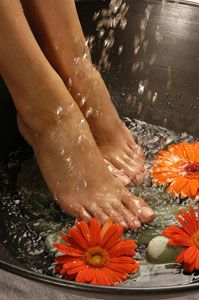 images of pedicures | FRESH ORANGE PEDICURE 60MIN-$55