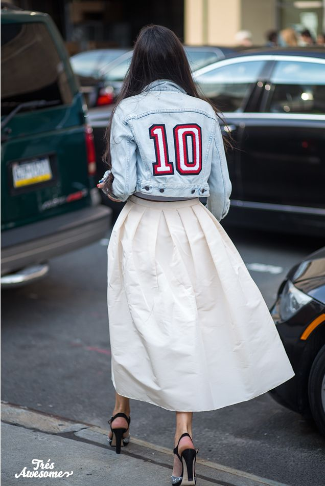 Très Awesome ♥ Chicago Street Style: Perfect 10 - New York Fashion Week