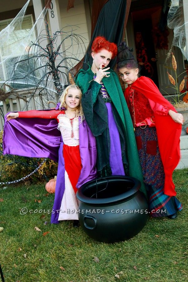 192 best kiddo halloween images on pinterest costume ideas cute hocus pocus girls group costume solutioingenieria Choice Image