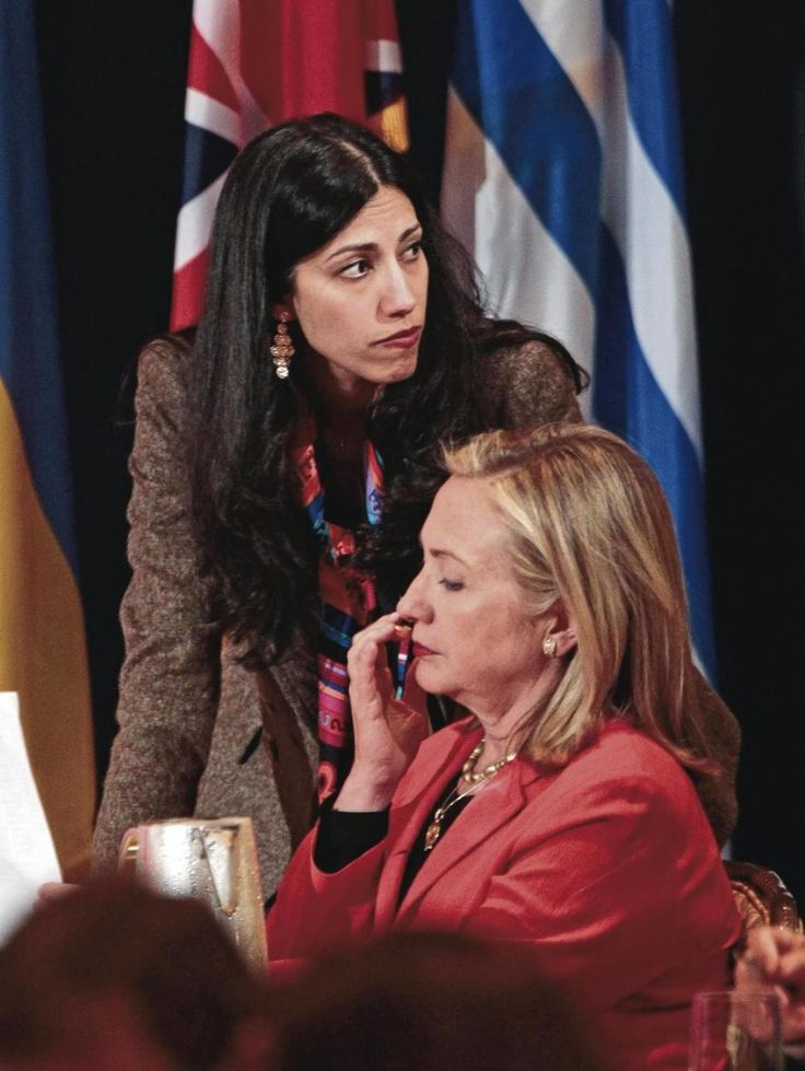 Huma Abedin is still Hillary Clinton's personal chief of staff despite many questions.....9/21