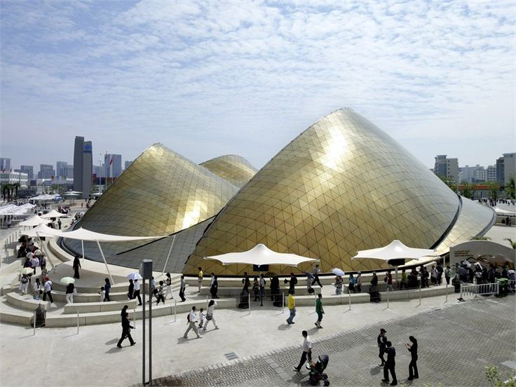 UAE Pavilion Shanghai Expo 2010 - Padiglione degli Emirati Arabi Uniti per l'Expo 2010 di Shanghai - Shanghai, Китай - 2010